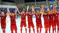 Futsal Việt Nam nhận tin vui
