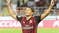 AC Milan 2-0 Lazio: Bacca lại nổ súng, Milan tiếp tục hồi sinh