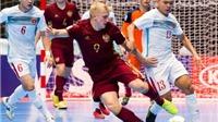 Việt Nam 0-7 Nga: 'Gấu Nga' quá mạnh!