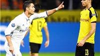 ĐIỂM NHẤN Dortmund 2–2 Real Madrid: Đẳng cấp Ronaldo, sức trẻ Dortmund