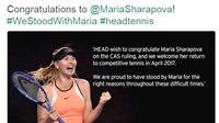 Vì sao Sharapova vẫn hút tài trợ dù bị treo vợt?