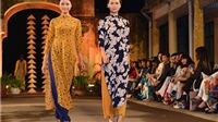 Hoa hậu Ngọc Hân lần đầu đem thiết kế đến 'Festival áo dài Hà Nội'