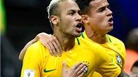 Neymar mạnh mẽ và xuất sắc hơn khi từ bỏ băng đội trưởng Brazil