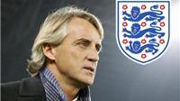 Wenger và Mancini là ứng viên nặng ký cho vị trí HLV đội tuyển Anh