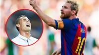 Ronaldo kém Messi... 19 bậc trên BXH những cầu thủ vĩ đại nhất Liga