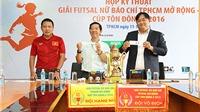 Giải futsal nữ Báo chí TP.HCM mở rộng 2016: Thêm sân chơi cho chị em làng báo