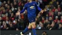 Ibrahimovic lập kỉ lục đáng HỔ THẸN sau trận Man United hòa Liverpool