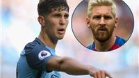 John Stones thách thức Lionel Messi, đề cao bản năng của Luis Suarez