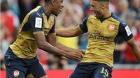 Hàng công Arsenal: Wenger nên dùng Iwobi hay Chamberlain?