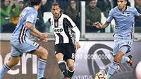 Marchisio, Chiellini trở lại, Juve như hổ chắp cánh
