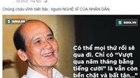 NSƯT Chí Trung: 'Chúng cháu vĩnh biệt bác Phạm Bằng - người NGHỆ SĨ CỦA NHÂN DÂN'
