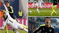 10 khoảnh khắc VÀNG trong tuyệt phẩm của Mesut Oezil vào lưới Ludogorets