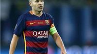 'Thánh' Andres Iniesta có đá, Barca cũng bất lực