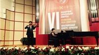 'Hậu duệ' nhà văn Nguyễn Tuân chiến thắng tại cuộc thi violon danh giá châu Âu