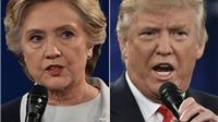 Tin mới nhất về bầu cử Mỹ: Bà Clinton dẫn trước, ông Trump ở thế chân tường