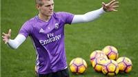 Real Madrid: Vắng Toni Kroos mới nguy