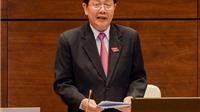 Bộ trưởng Bộ Nội vụ Lê Vĩnh Tân trả lời chất vấn Quốc hội