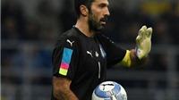 Buffon có cử chỉ mã thượng khi thấy CĐV la ó quốc ca của Đức
