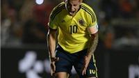 Huyền thoại Colombia tin James Rodriguez đã nhiễm thói quen xấu từ Ronaldo