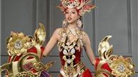 Trang phục dân tộc nặng 44kg của Siêu mẫu Khả Trang bị 'ném đá'