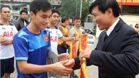 Khai mạc giải bóng đá quận Hoàn Kiếm lần thứ III năm 2016
