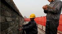 Đại tu bổ Tử Cấm Thành ở Bắc Kinh trước khi các bức tường sụp đổ