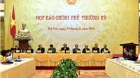 Người Phát ngôn Chính phủ trả lời 5 vấn đề công luận quan tâm