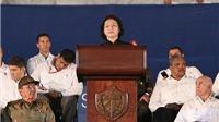 Phát biểu của Chủ tịch Quốc hội tại lễ tưởng niệm Lãnh tụ Fidel