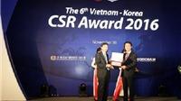 6 doanh nghiệp Hàn Quốc có trách nhiệm xã hội tốt nhất tại Việt Nam