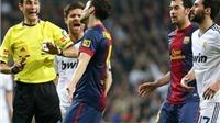 Fan Real lo ngại trọng tài bắt trận 'Kinh điển' thiên vị Barca