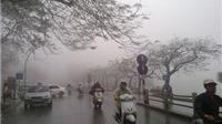 Không khí lạnh tăng cường, miền Bắc rét đậm, mưa to tái diễn từ Hà Tĩnh đến Bình Định