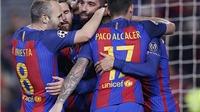 Arda Turan lập hat-trick, Barcelona lập kỷ lục Champions League