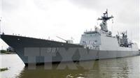 Hơn 500 sĩ quan, thủy thủ Hàn Quốc thăm Cảng quốc tế Cam Ranh