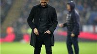ĐIỂM NHẤN Leicester 4-2 Man City: Không Aguero, không phòng ngự, Man City chết chìm dưới cơn mưa