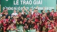 Thái Sơn Nam đăng quang ở giải vô địch TP.HCM 2016