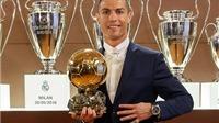 Cristiano Ronaldo giành Quả Bóng Vàng 2016: Huyền thoại của sự nỗ lực
