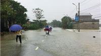 Thừa Thiên - Huế: Mưa to, các hồ thủy điện xả lũ gây úng ngập