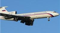 Bộ Quốc phòng Nga ra lệnh tạm đình chỉ hoạt động máy bay Tu-154