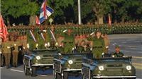 Chùm ảnh: Cuba diễu binh quy mô lớn
