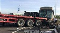 3 ô tô đâm liên hoàn trên cao tốc, 5 người bị thương nặng