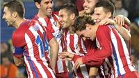 Las Palmas – Atletico 0-2: Quái vật Atletico Madrid đã trở lại