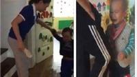 Chủ tịch Hà Nội yêu cầu báo cáo việc cô giáo mầm non đánh học sinh bằng dép