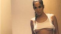 U50 Jennifer Lopez 'gây bão' khi chạy theo mốt 'khoe chân ngực'