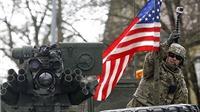 Xe tăng, xe bộ binh, lính Mỹ rầm rộ tập kết tại Estonia