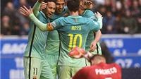 Barca đánh tennis trước Alaves: Bản năng 'MSN' và bệ phóng Busquets