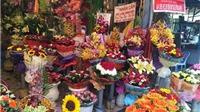 Giá hoa đắt đỏ sát ngày Valentine, người mua vẫn ùn ùn