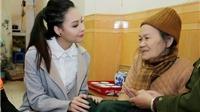 Hoa hậu biển Thùy Trang nấu bữa cơm yêu thương, tri ân cựu nữ thanh niên xung phong