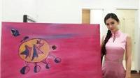 Tranh nghìn đô của Angelababy khiến họa sĩ muốn bỏ nghề
