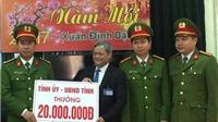 Khen thưởng ban chuyên án vụ giết tài xế xe tải cướp 34 tấn thép