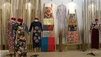 Tinh hoa vải Nhật 'kết duyên' áo dài Việt Nam